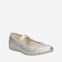 Dance Solo Toddler Silver Synthetic girls-toddler