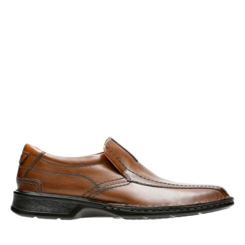 Escalade Step Brown Leather mens-dress-casual-shoes