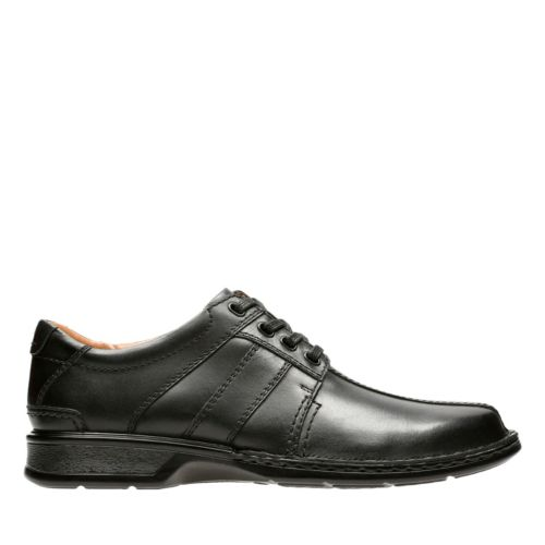 Touareg Vibe Black Leather mens-oxfords-lace-ups