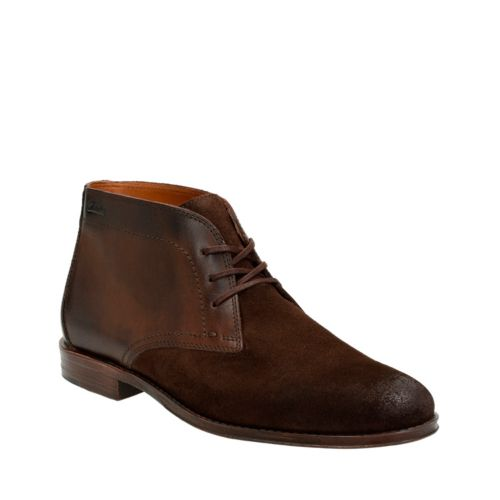 Hawkley Rise Dark Brown Combi mens-dress-boots