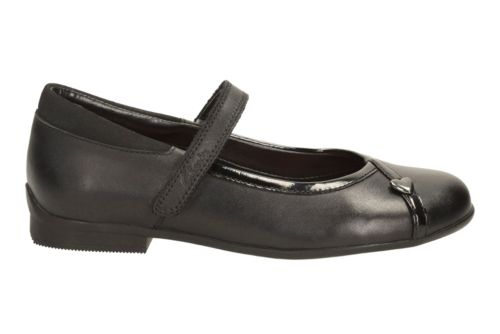 Dolly Babe Toddler Black Leather girls-toddler