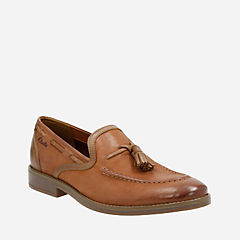 Garren Style Tan Leather mens-dress-shoes