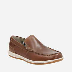 Fallston Step Brown Leather mens-casual-shoes