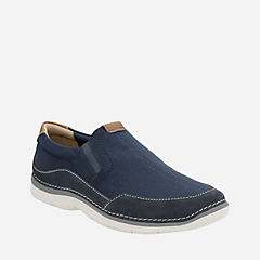 Ripton Free Blue Canvas mens-casual-shoes