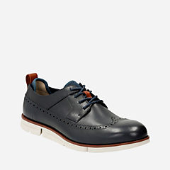 Trigen Limit Navy Leather mens-dress-casual-shoes