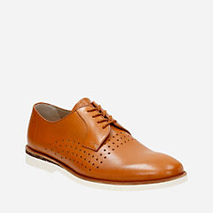 Tulik Edge Tan Leather mens-dress-casual-shoes
