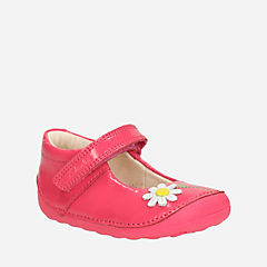 Little Jam Baby Coral Patent girls-pre-walker