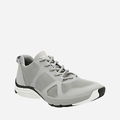 Wave Quantum Light Grey Mesh mens-active