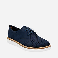 Glick Resseta Navy Nubuck womens-casual-shoes