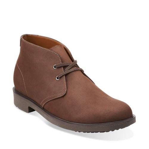 Riston Style Brown Leather mens-waterproof