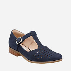 Hotel Vibe Navy Nubuck womens-casual-shoes
