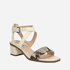 Ivangelie Ray Natural Snake Combi Leather womens-sandals