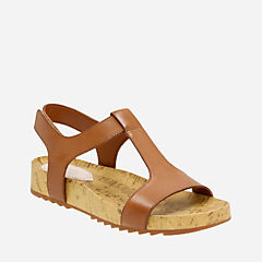 Zelby Zena Tan Leather womens-sandals