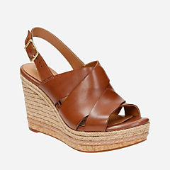 Amelia Dally Nutmeg Leather womens-sandals