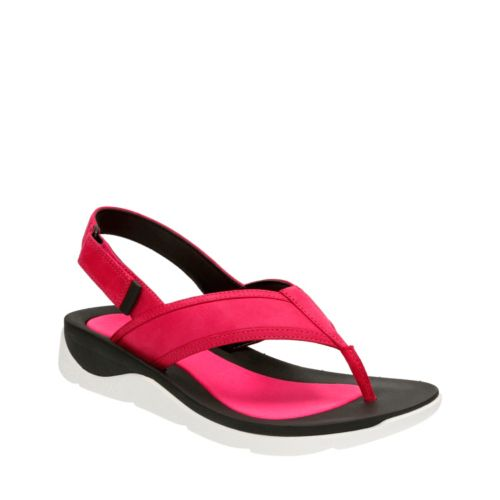 Caval Kora Fuchsia Leather womens-sandals-sport