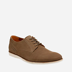 Franson Plain Brown Nubuck mens-dress-casual-shoes
