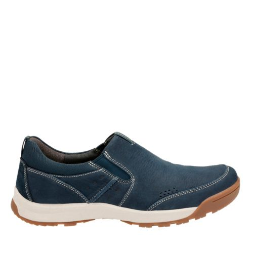 Wavescree Step Navy Nubuck mens-walking-shoes