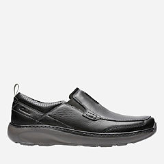 Charton Step Black Leather mens-casual-shoes