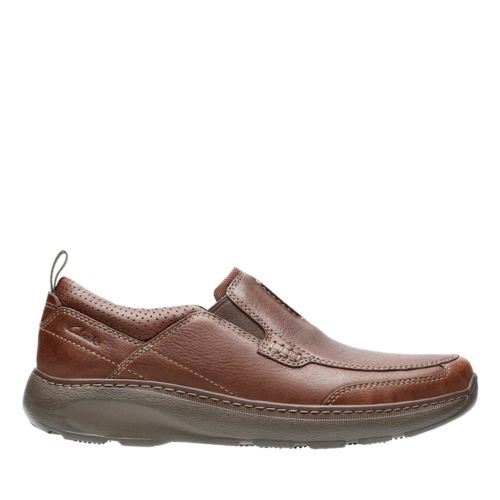 Charton Step Brown Leather mens-casual-shoes