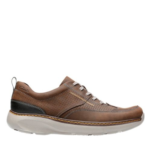 Charton Mix Dark Brown Lea mens-casual-shoes