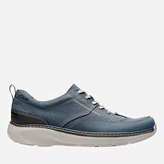 Charton Mix Navy Leather mens-casual-shoes