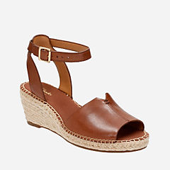 Petrina Selma Nutmeg Leather womens-sandals
