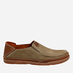 Trapell Form Olive Nubuck mens-casual-shoes