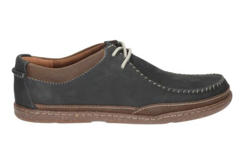 Trapell Pace Navy Nubuck mens-casual-shoes