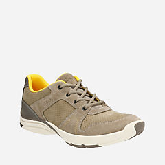 Wave Launch Taupe Nubuck/Suede mens-active