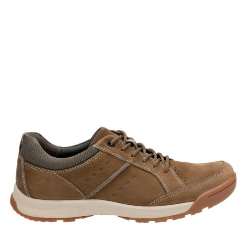 Wavescree Hype Olive Nubuck mens-walking-shoes