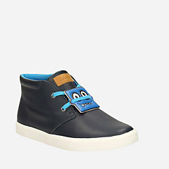 Club Rise Toddler Navy Leather boys-toddler