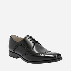 Amieson Limit Black Leather mens-dress-shoes