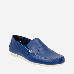 Trimocc Sun Blue Leather mens-casual-shoes