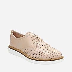 Glick Resseta Nude Leather womens-casual-shoes