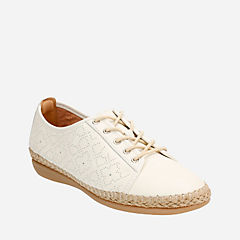 Reeney Rita Offwhite Leather womens-casual-shoes