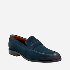 Hawkley Free Blue Combi mens-loafer-slip-on