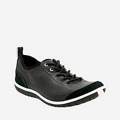 Ibeeck Oxford Black Nubuck/Suede womens-active