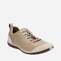 Ibeeck Oxford Beige Nubuck/Suede womens-active