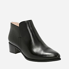 Marlina Revel Black Leather womens-boots