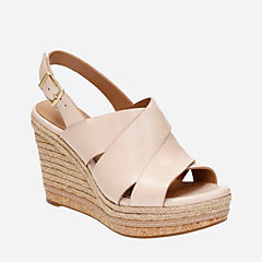 Amelia Dally Nude Leather womens-sandals