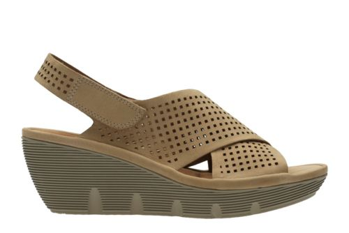 Clarene Award Sand Nubuck womens-precollection