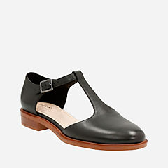 Taylor Palm Black Leather womens-somerset