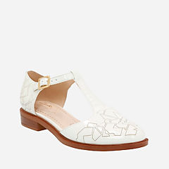 Taylor Palm Off White Patent womens-casual-shoes