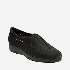Daelyn Summit Black Nubuck womens-casual-shoes