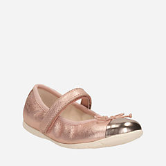 Dance Rosa Toddler Rose Gold girls-dress-shoes