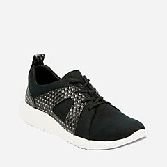 Cowley Faye Black Nubuck womens-active