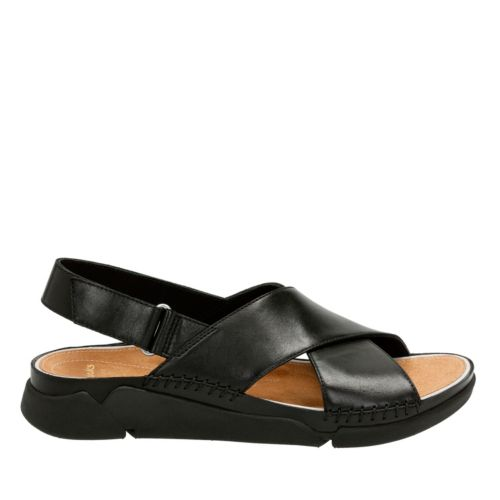 Tri Alexia Black Leather womens-sandals-sport