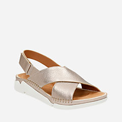 Tri Alexia Gold Metallic womens-sandals-sport