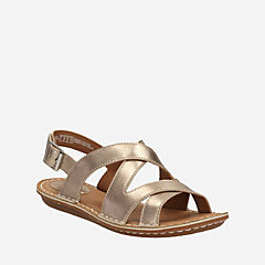 Tustin Spears Metallic Leather womens-sandals