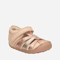 Little Mae Baby Rose Gold kids-view-all-shoes